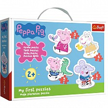 Puzzle Peppa Pig My First 36086 Trefl