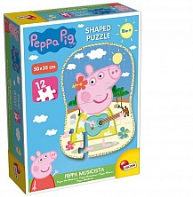 Puzzle Peppa Pig Shaped Music 12 El